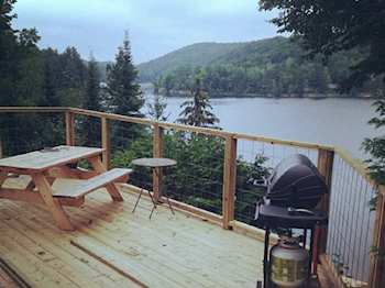 Cool Cottage Link Quebec Cottage Rental Qu10494 Home Interior And Landscaping Analalmasignezvosmurscom